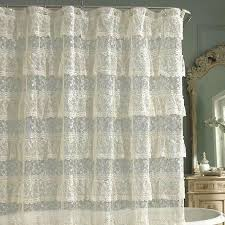 ruffled shower curtains image of ruffle shower curtain cheap