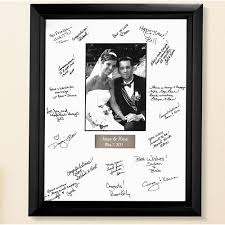 wedding signing frame personalized wedding autograph frame walmart