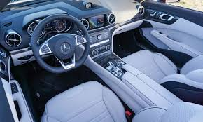 mercedes benz silver lightning interior 2017 mercedes benz sl first drive review autonxt