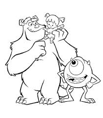 Top 84 Monsters Inc New Coloring Pages Free Coloring Page Coloring Pages Monsters