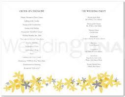 Sample Wedding Program Templates Free And Cute Wedding Program Templates Batty Life 2416474 Top