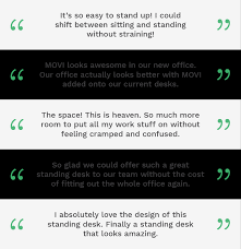 movi the designer standing desk to improve your health by movi