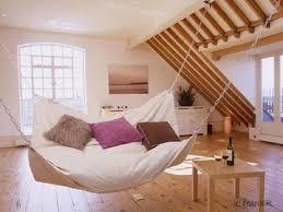 hanging hammock bed