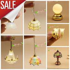 aliexpress buy 1 12 dollhouse lights battery operated