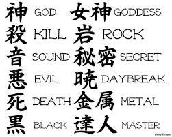 100 beautiful chinese japanese kanji tattoo symbols amp designs