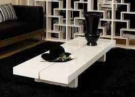 White Modern Coffee Tables by White Wood Coffee Table Custom Made Cedar Slab Coffee Table