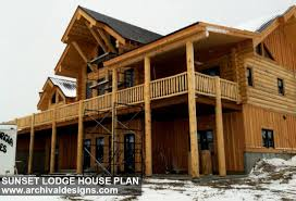 modern living in rustic home plans
