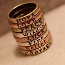 inspirational rings 8 vintage inspirational rings only 3 49 free shipping become