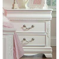 Jessica Bedroom Set by Jessica White Traditional 2 Drawer Nightstand Rc Willey