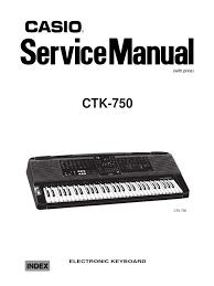 casio ctk 750 service manual amplifier random access memory