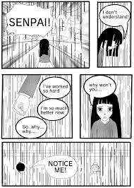 Senpai Meme - notice me senpai mini comic two frames studios