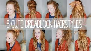 hairstyles after dreadlocks 8 cute dreadlock hairstyles youtube