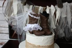 western cowboy boots wedding cake topper western wedding western