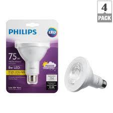 75 watt led light bulbs philips 75 watt equivalent par30l indoor outdoor household led light