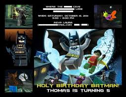 batman party invitation laura u0027s crafty life