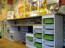 Craft Room Storage Furniture - affordable craft room ideas using ikea kids storage and re store