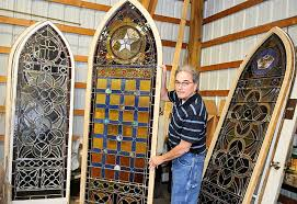 antique stained glass doors for sale scriba holds off on auction of stained glass windows syracuse com