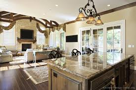 Rustic Kitchen Islands With Seating Rustic Kitchen Designs Pictures And Inspiration