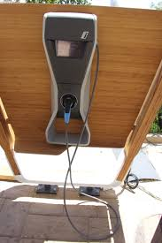 End Table With Charging Station by Installing A Level 2 Charger For An Electric Car