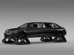 mercedes maybach 2010 mercedes maybach pullman crawler 2016 3d model cgtrader