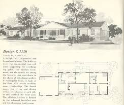 1960s Ranch House Plans | attractive 1960s ranch house plans vintage house plans 1960s homes