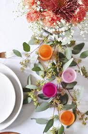 minimal thanksgiving table decorations delineate your dwelling