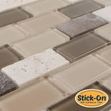 Stick On Tiles For Backsplash by Best 20 Peel And Stick Tile Ideas On Pinterest Peel Stick