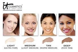 it cosmetics celebration foundation light it cosmetics bye bye under eye concealer with collagen brush