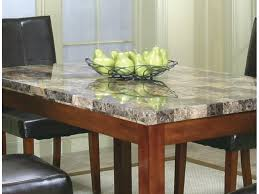 cramco dining room square faux marble top counter height table
