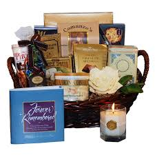 bereavement gift baskets to it forever remembered sympathy gift basket 88 94