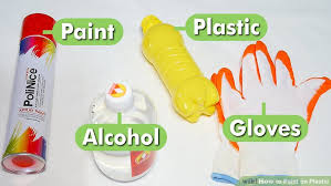 how to paint on plastic with pictures wikihow