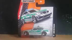 matchbox bmw matchbox 1 64 bmw m5 polizei unboxing youtube