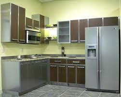 Steel Cabinets Kitchen Kitchen Benefits Of Using Stainless Steel Kitchen Cabinets