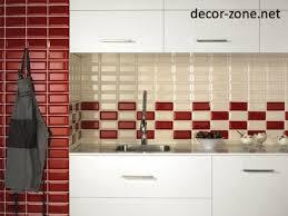 Red Tiles For Kitchen Backsplash Tag For Red Kitchen Tile Design Ideas Nanilumi