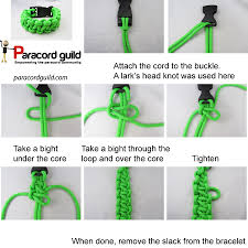 make paracord bracelet with buckle images Paracord survival bracelet with buckle instruction how to make a jpg