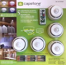 led puck lights costco capstone lighting capstone 5 led multi color puck lights with swivel