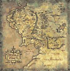 map hobbit nine adventurous cross stitch projects for the hobbit the