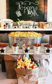 ultimate popcorn bar popcorn bar popcorn and slumber parties