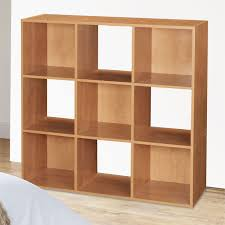 Wooden Shelves Pics by Top Home Solutions 9 Cube Wooden Bookcase Shelving Display Shelves