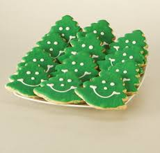 christmas cookie gift pack smiley christmas tree sugar cookies