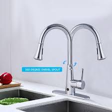 touchless kitchen faucet costway rakuten costway motion sense touchless kitchen faucet