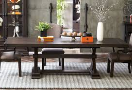 Samuel Lawrence Dining Room Furniture Fulton Street Trestle Dining Table Dining Tables Dining Room