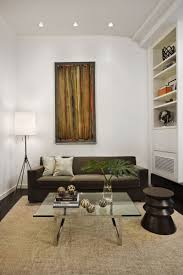unique white brown wood design small livingroom ideas wall paint