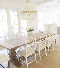 dining room great beautiful white chairs plush simple for ideas