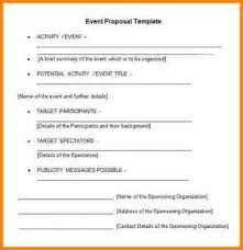 8 example of proposal party quote templates