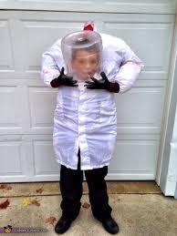 Kids Headless Halloween Costume Headless Mad Scientist Costume