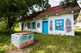 is this the most beautiful village in poland the painted houses