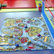 Kids City Rug by Kids Rug Play Mat City