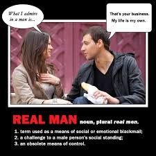 A Real Man Meme - your man no be a man fake philosophy