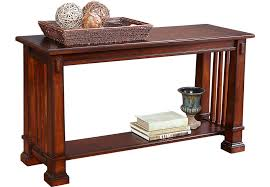 sofa table clairfield tobacco sofa table sofa tables wood